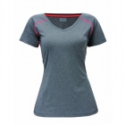 Running Top Linköping, black melange, 2117