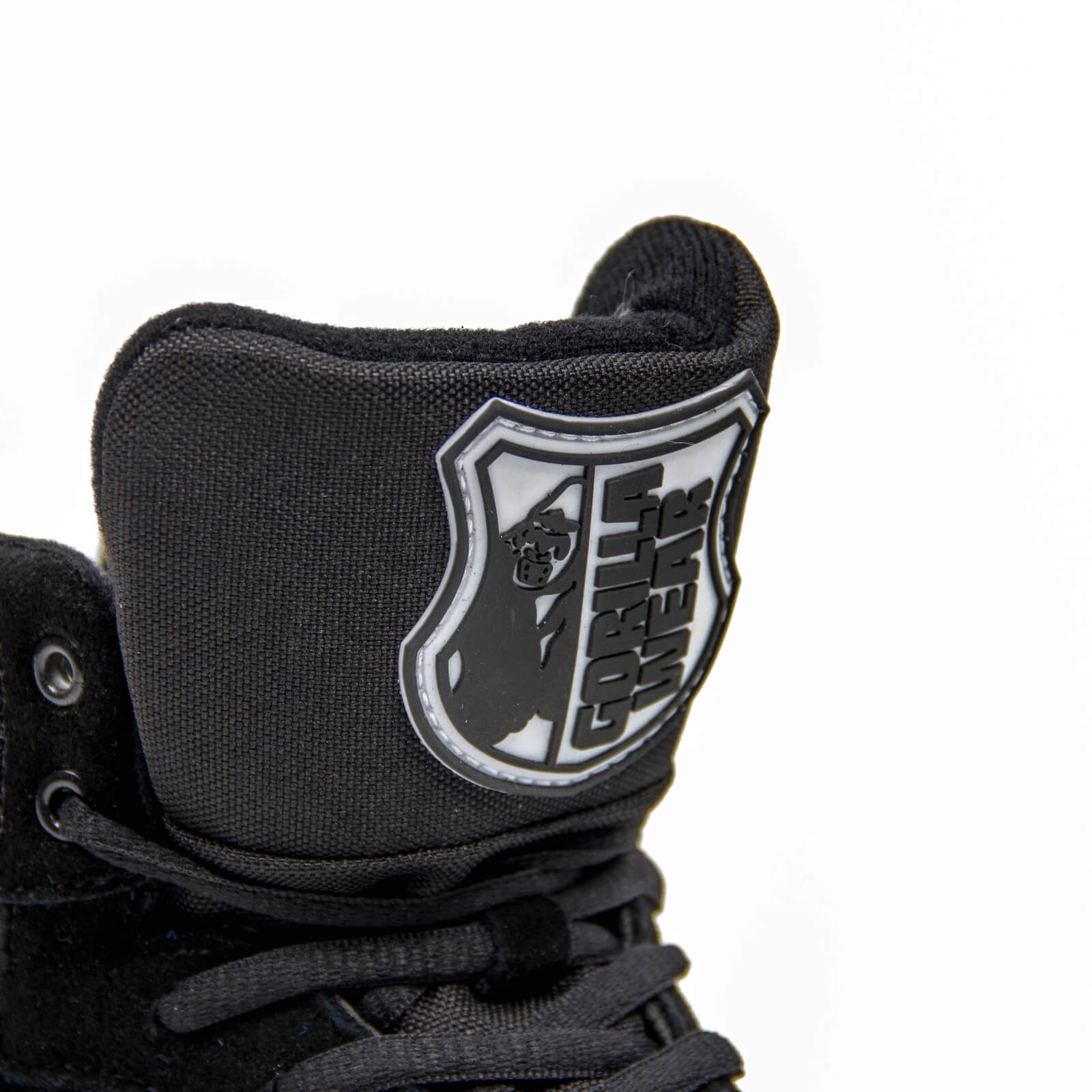 Gorilla Wear Men GW High Tops Shoe, black, 36 Kampsportskor dam