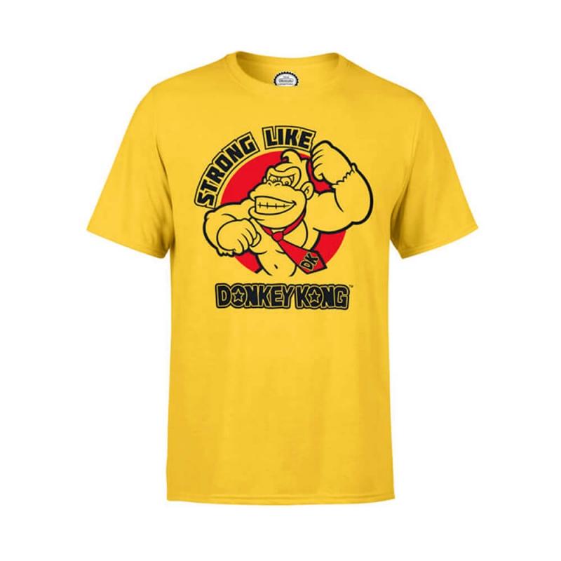 Köp Strong Like Donkey Kong T-Shirt 1bb820c9f5ac0