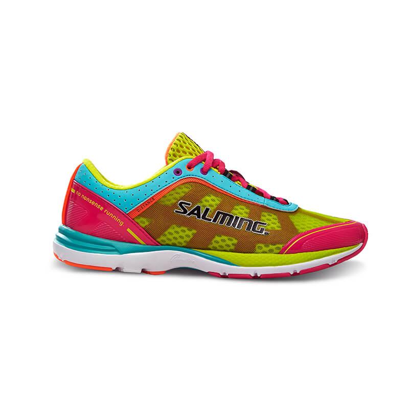 4f62309eb81 Köp Distance 3 Women, pink glo/turquoise, Salming Sports online hos ...