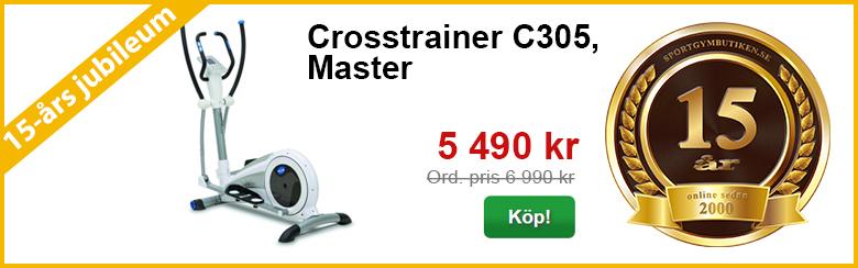 Crosstrainer C305, Master  | 15-års kampanj | Sportgymbutiken.se