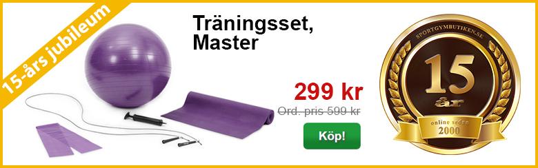 Träningsset, Master | 15-års kampanj | Sportgymbutiken.se