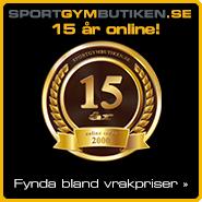 15-års kampanj | Sportgymbutiken.se