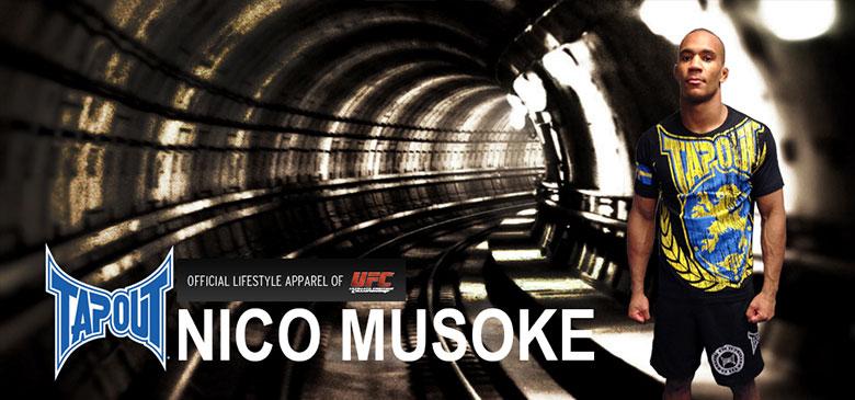 Nico Musoke, Tapout | Sportgymbutiken.se