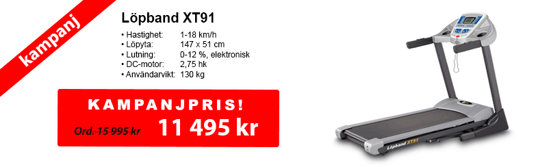 Löpband XT91 | SportGymButiken.se