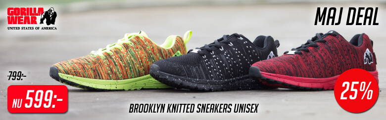 Kolla in Brooklyn Knitted Sneakers från Gorilla Wear »