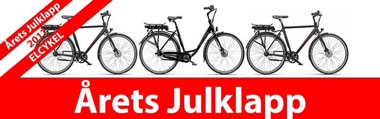 Kolla in Årets julklapp 2017 - Elcykeln »