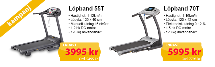 Köp Löpband från JTC Sport till kampanjpris!
