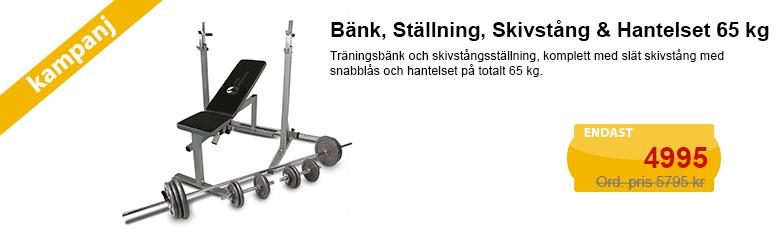 Köp bänkpress till kampanjpris!