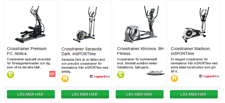 Köpguide - Crosstrainer