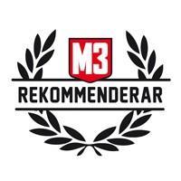 Rekommenderas av M3 i TEST 2017
